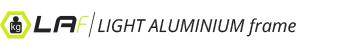 LAF LIGHT ALLUMINIUM frame